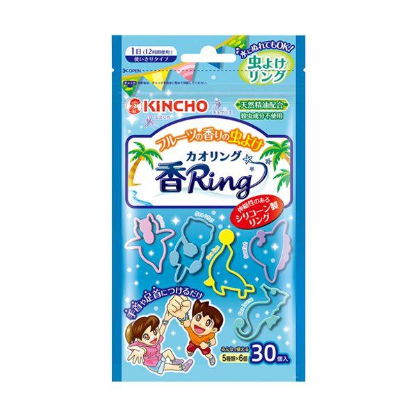 虫よけ 香リング ブルー 30コ カオリング 香Ring