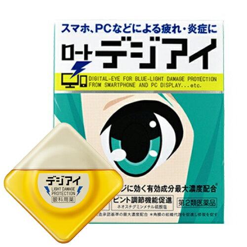 【ネコポス専用】【第2類医薬品】目薬 ロートデジアイ 12ml