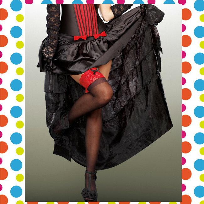 バーレスクスカート 【S・M・L・XLサイズ】(ハロウィン/衣装/セクシー/SEXY/コスプレ/ハロウィーン/仮装/パーティー/Halloween )【コンビニ受取対応商品】