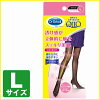 Perhaps QttO (medicutt) and medikyutto while sleeping stockings black size L pair