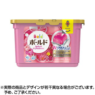 Gel ball boldface P&G Japan boldface gel ball W platinum platinum Blossom & ピオニー 18