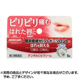 【クーポン配布中】【第(2)類医薬品】デンタルピルクリーム 5g | 口唇炎 口角炎