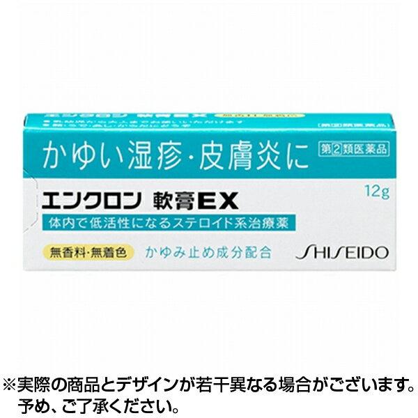 【ポイント5倍】【第2類医薬品】エンクロン 軟膏EX 12g |資生堂【6個までネコポス対応】