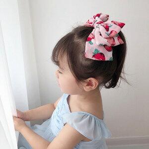 ヘアバレッタ ヘアクリップ 2カラー選べる いちごキュート ヘアピン ヘアアクセサリー ヘアーピン 髪留め ヘアアレンジ シンプル パッチンどめ 子供 女の子 花 パッチン留め プチ