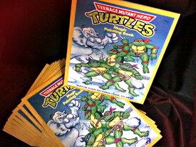 【送料無料!】貴重な1990年代ヴィンテージ品!◆ミュータントタートルズ Magic Painting Book◆(10冊セット)