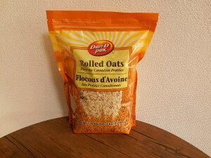 【輸入FOOD】話題沸騰中☆ Rolled Oats 食物繊維豊富!お徳用 本格オートミール 内容量:1kg