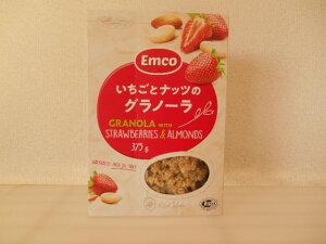 【輸入FOOD】Emco いちごとナッツのグラノーラ 内容量;375g チェコ産