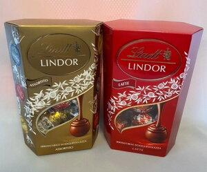 【輸入FOOD】リンドール コルネット Lindt チョコレート 3種類 入り200g +1種類200g アソート チョコ スイーツ お菓子 高級 個包装 スイーツ