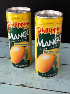 【輸入FOOD】マンゴーネクター 2缶セット Mango Nectar 果汁37% フィリピン直輸入