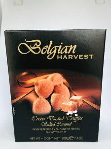 【輸入FOOD】Belgian HARVEST『ココアトリュフ 塩キャラメル』