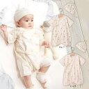 【ベビー】【日本製】Angeliebeオリジナル無添加コットンコンビ肌着&フードセット【ベビー 赤ちゃん ベビー服 男の子 女の子 ウェア ウエア】