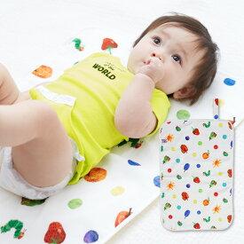 【ベビー】 はらぺこあおむし おむつ替えシート 【おむつ替えマット 赤ちゃん 出産準備 ベビー用品 オムツ替え 】