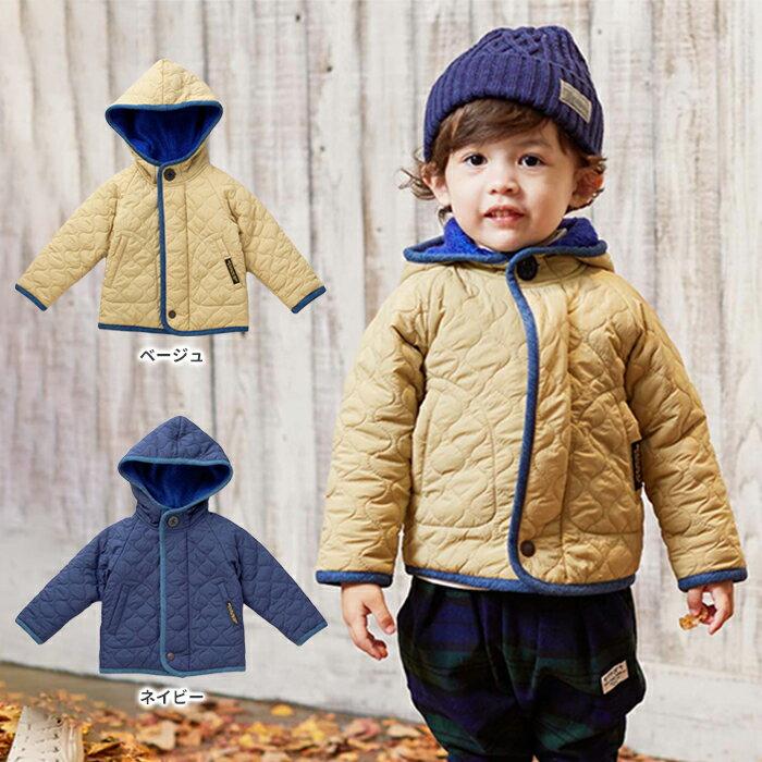 【ベビー】【F.O.KIDS】キルティングジャケット【ベビー 赤ちゃん ベビー服 男の子 おとこのこ 女の子 おんなのこ ウェア ウエア ジャケット アウター】