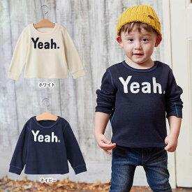 【Caldia】サーマルロゴ刺繍Tシャツ 【ウェア ウエア おやこーで 親コーデ リンクコーデ】