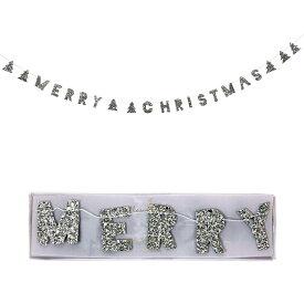 【MeriMeri】ミニガーランド メリークリスマス 【Christmas Xmas X'mas クリスマス雑貨 デコレーション デコグッズ 飾り 装飾品 パーティー】