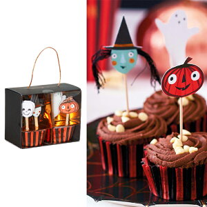【最大10%OFFクーポン配布中】【MeriMeri】ハロウィンカップケーキキット 【ハロウィン ハロウィン雑貨 デコレーション デコグッズ 飾り 装飾品 パーティー】
