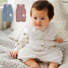 ベビー パジャマ【moc mof】おやすみ星ベストタイプスリーパー| 男の子 女の子 ベビー服 新生児 赤ちゃん服 ベビーウエア 服