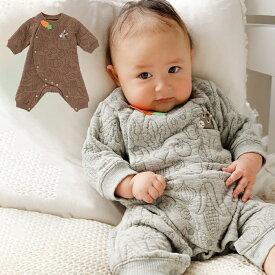 ベビー ロンパース【BITZ】ニットキルトちびカバーオール| 男の子 女の子 ベビー服 新生児 赤ちゃん服 ベビーウエア 服