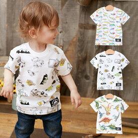 【ベビー】 【LITTLE BEAR CLUB】プリントTシャツ 【ベビー 赤ちゃん ベビー服 男の子 ウェア ウエア トップス】
