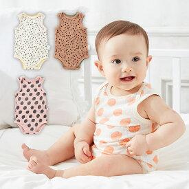 【Ampersand】プリントタンクボディベビー服 赤ちゃん ワンピース ブルマ ロンパース ベビー服 子供服 男の子 女の子