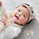 【日本製】リバティ小花柄 ヘッドドレス【リバティ LIBERTY 赤ちゃん ベビー かわいい ヘアバンド リボン ギフト 出…