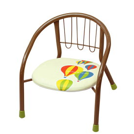 【豆イス】 静かなパイプイス(バルーン) 【ローチェア/イス/椅子/いす/赤ちゃん/ベビー/KATOJI/カトージ】