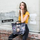 NICOLE LEE ニコールリー PAO12979 PaolaIsTomboy トートバッグ おしゃれ レディース 人気 ママ 大きめ かわいい 革 3…