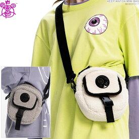 【セール SALE】MISHKA ミシカ ショルダーバッグ KEEP WATCH MINI BAG ボア ミニショルダー/
