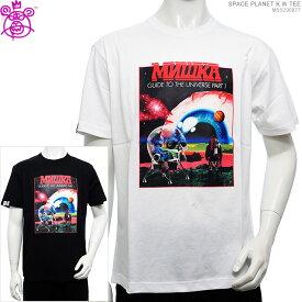 【セール SALE】 MISHKA Tシャツ ミシカ 半袖Tシャツ SPACE PLANET K.W TEE ミシカ トップス ストリート あす楽/