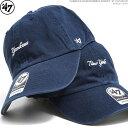 47 Brand キャップ スナップバック ヤンキース YANKEES BASERUNNER SCRIPT '47 CLEAN UP/47 Brand(47ブランド) ストラップバック/バッ…