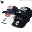 47 Brand キャップ フォーティセブン USA FLAG HERITAGE FRONT '47 CLEEN UP バックベルト調整 ストラップバック あす楽/