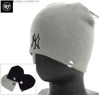 ヤンキース 47BRAND ビーニー ニット帽