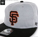 47 Brand キャップ 【 ジャイアンツ キャップ 】 47 キャップ/47 ブランド/MLB キャップ/SF ジャイアンツ/GIANTS LAKEVIEW '47 CAPTAIN…