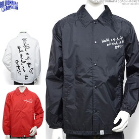 【セール SALE】BILLIONAIRE BOYS CLUB ビリオネアボーイズクラブ コーチジャケット P's AUTOGRAPH COACH JACKET /BBC アウター ナイロンジャケット ストリート/