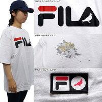 FILA半袖Tシャツ/FILA×STAPLETシャツ/Tシャツ