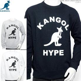 KANGOL トレーナー カンゴール クルーネック HYPE ARCH CREW SWEAT カンゴール トップス ストリート あす楽/