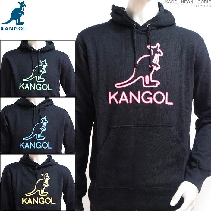 KANGOL パーカー カンゴール プルオーバー KAGOL NEON HOODIE カンゴール トップス ストリート あす楽/