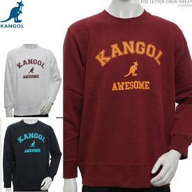 KANGOL トレーナー カンゴール クルーネック COLLEGE LETTER CREW SWEAT カンゴール トップス ストリート あす楽/