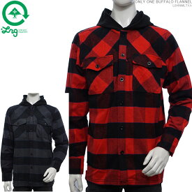 【セール SALE】LRG ネルシャツ エルアールジー フード付きシャツ カジュアルシャツ ONLY ONE BUFFALO FLANNEL あす楽/
