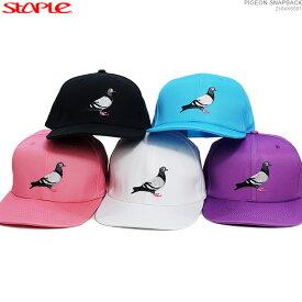 【セール SALE】STAPLE キャップ ステイプル スナップバック 帽子 PIGEON SNAPBACK あす楽/