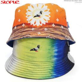 【セール SALE】STAPLE ハット ステイプル バケットハット 帽子 PRINTED BUCKET HAT あす楽/