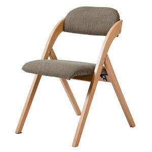 DA 折りたたみチェア 完成品 おしゃれ イス チェア 木製 椅子 カバー洗える ダイニングチェア リビング 介護用品 おしゃれ 人気 北欧 宅配便RSL