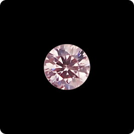 ピンクダイヤモンドルース0.147ctFANCYLIGHTPINK-SI2(中央宝石研究所鑑定書付)