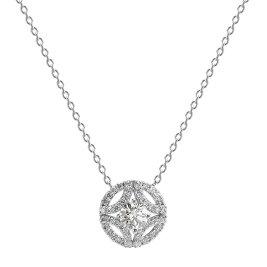 Pt900/Pt850プラチナダイヤモンドネックレス(0.354ctE-SI2-GOOD)中央宝石研究所鑑定書付168,000