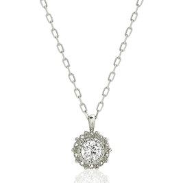 ダイヤモンドプチネックレス(0.11ct)