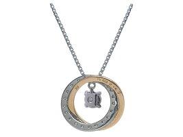 Pt900/K18PGダイヤモンドネックレス空枠(0.10〜0.2ct用)ネックレス製作・リフォーム