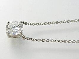 【4点留め両吊り】Pt900/Pt850プラチナダイヤモンドプチネックレス空枠(0.2〜1.5ct用)ネックレス製作・リフォーム