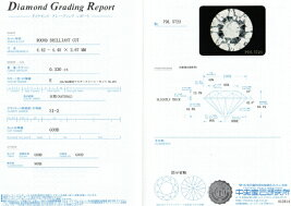 Pt900/Pt850プラチナダイヤモンドネックレス(0.330ctE-SI2-GOOD/0.05ct)中央宝石研究所鑑定書付