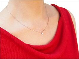 【6本爪】Pt.ダイヤモンドプチネックレス空枠(0.2〜2.0ct)ネックレス製作・リフォーム