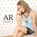【予約】AngelR エンジェルアール[デコルテ&バストビジューカッティングレースタイトミニドレス]ミニドレス タイト …